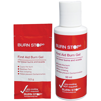 Burn Gel Bottles