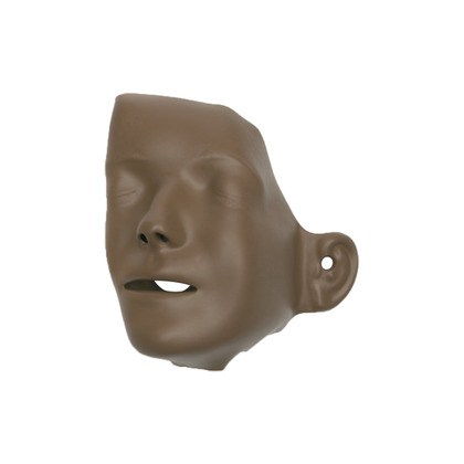 Laerdal Little Junior Dark Skin Faces Pack of 6