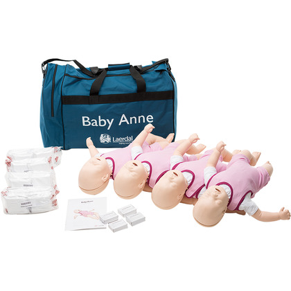 Laerdal Baby Anne Light Skin Pack of 4