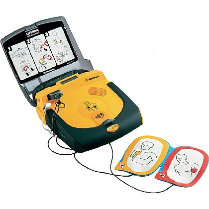 LIFEPAK CR Plus AED, Semi-Automatic
