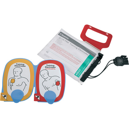 LIFEPAK Adult AED QUIK-PAK Training Electrode Set