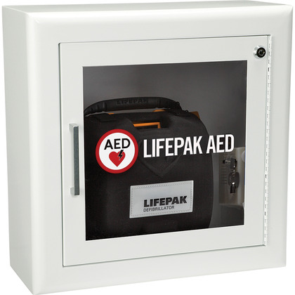 LIFEPAK Alarmed AED Storage Cabinet