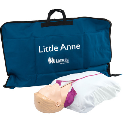 Laerdal Little Anne with Softpack Light Skin