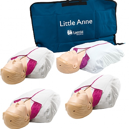 Laerdal Little Anne with Softpack Light Skin Multipack