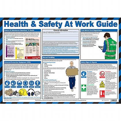 Health & Safety at Work Guidance Poster
