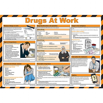 Drugs at Work Guidance Poster