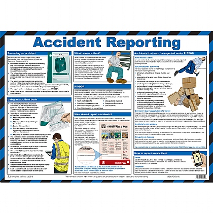 Accident Reporting Guidance Poster