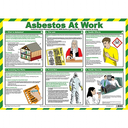 Asbestos at Work Guidance Poster