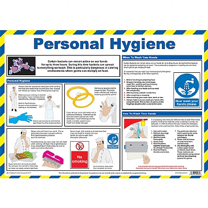 Personal Hygiene Guidance Poster