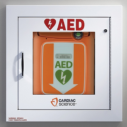 Powerheart G5 AED Cabinet, Alarmed