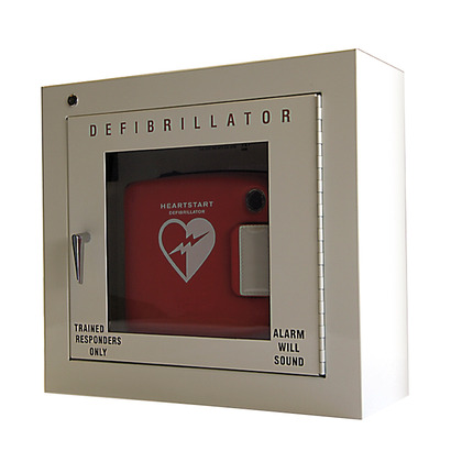 HeartStart AED Cabinet with Alarm