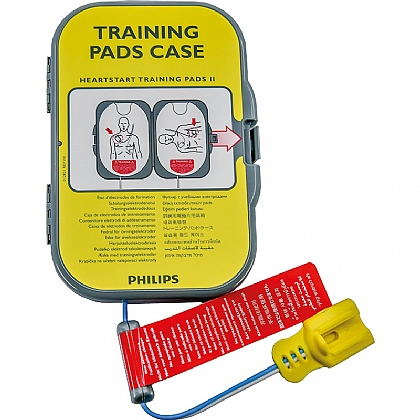 HeartStart FRx AED Training Pads II in case
