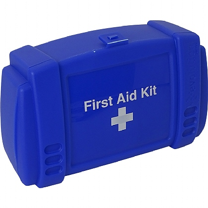 Small Evolution Blue First Aid Kit Case, Empty