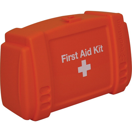 Small Evolution Orange First Aid Kit Case, Empty