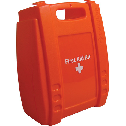 Medium Evolution Orange First Aid Kit Case, Empty