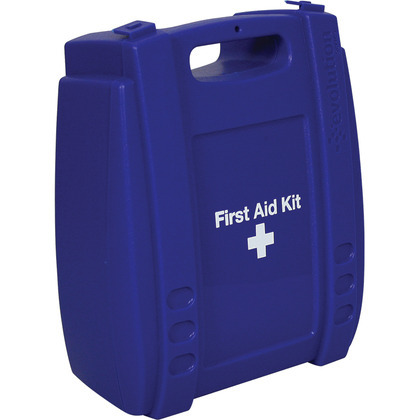 Medium Evolution Blue First Aid Kit Case, Empty