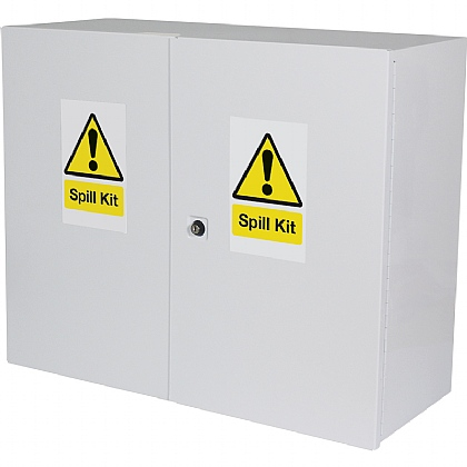 Chemical / Oil Spill Kit Cabinet, Empty