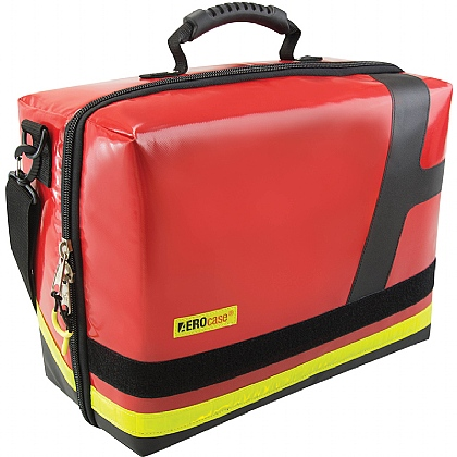 EMS Emergency Bag, Large, PVC, Red