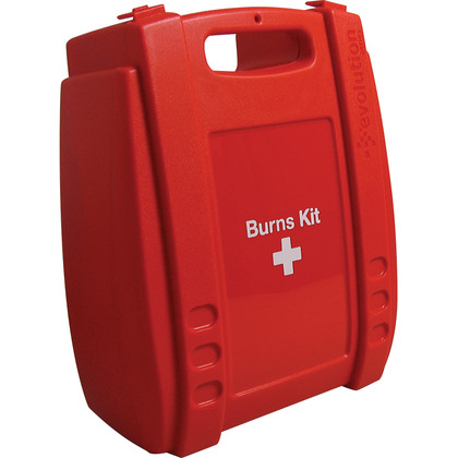Medium Evolution Red Burns Kit Case, Empty