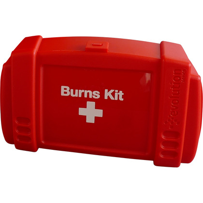 Small Evolution Red Burns Kit Case, Empty