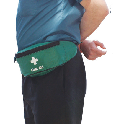 First Aid Bum Bag (Green), Empty