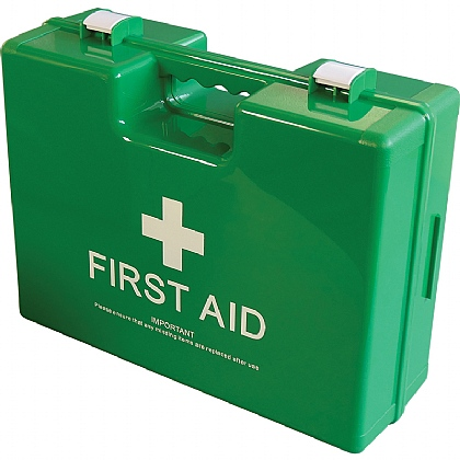 Medium Deluxe Shatterproof ABS First Aid Case, Empty