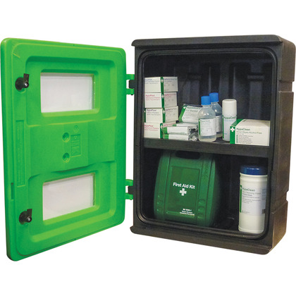 Heavy Duty First Aid Cabinet, Empty, Medium
