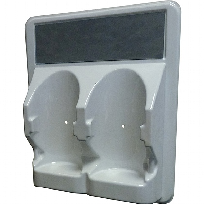 2x500ml Eyewash Station, Empty