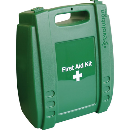 Medium Evolution Green First Aid Kit Case, Empty