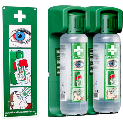 Cederroth Eye Wash 500ml  (Pack of 2)