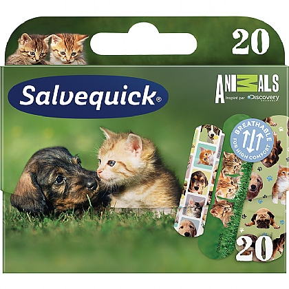 Salvequick Animal Planet Assorted Water Resistant Plasters