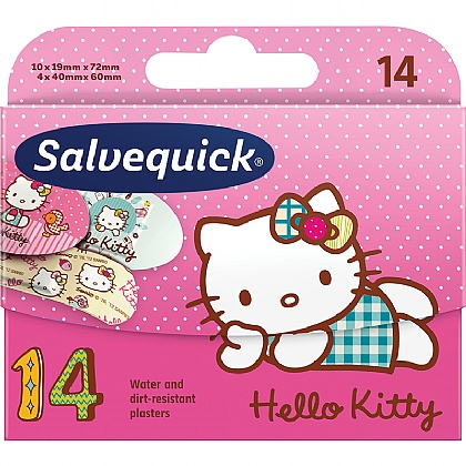 Salvequick Hello Kitty Assorted Water Resistant Plasters
