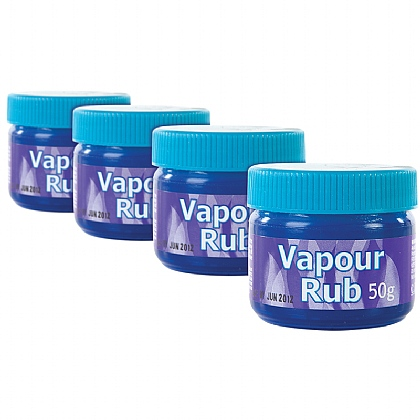 Vapour Rub, 50g (Pack of 6)