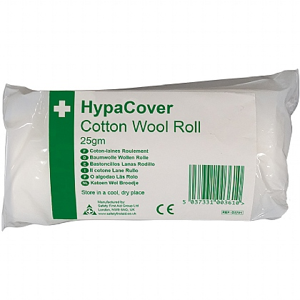 HypaCover Cotton Wool Roll Bpc, 25gm