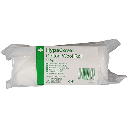HypaCover Cotton Wool Roll Bpc, 100gm