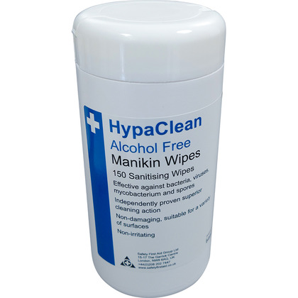 HypaClean Manikin Wipes