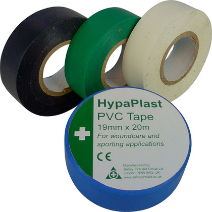 HypaPlast PVC Tapes, Black