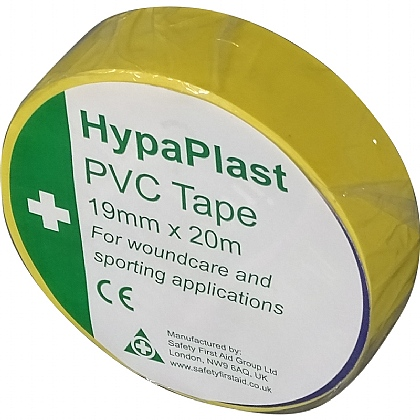 HypaPlast PVC Sports Tape, Yellow