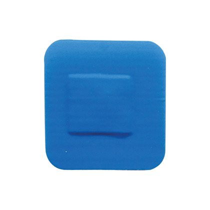 HypaPlast Blue Catering Plasters, 3.8x3.8cm (Pack of 100)
