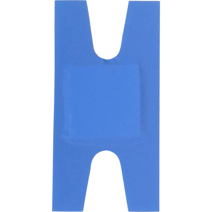 HypaPlast Blue Catering Plasters, Knuckle (Pack of 100)
