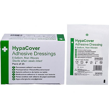 HypaCover Adhesive Dressings, Medium (Pack of 25)