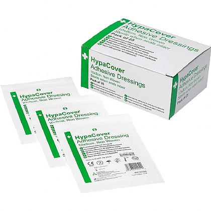 HypaCover Adhesive Dressings, Large (Pack of 25)