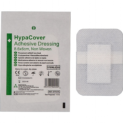 HypaCover Adhesive Dressings, Medium (Pack of 10)