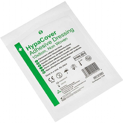 HypaCover Adhesive Dressings, Large (Pack of 10)