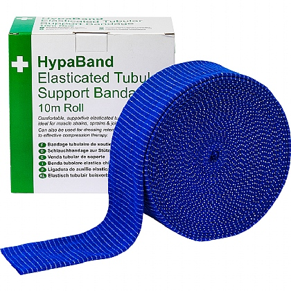 10m Tubular Support Bandage (D - Arms, Legs), Blue