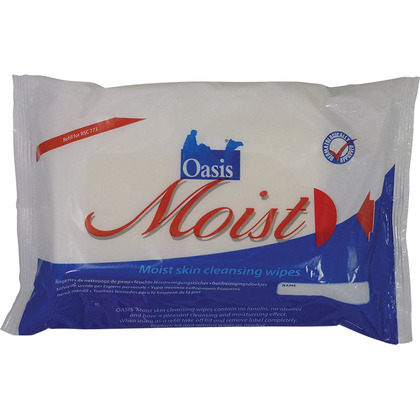Oasis Moist Patient Wipes, 50