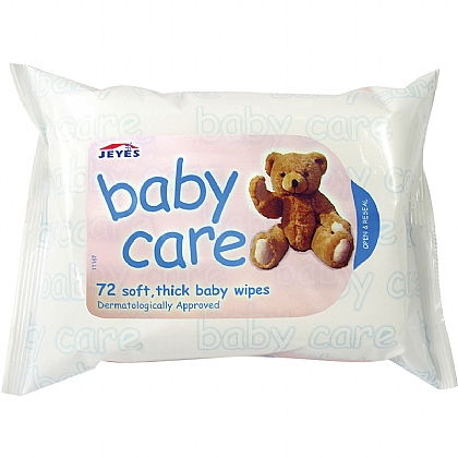 Baby Wipes, Pack of 12