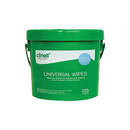 Clinell Universal Wipes - Bucket of 225