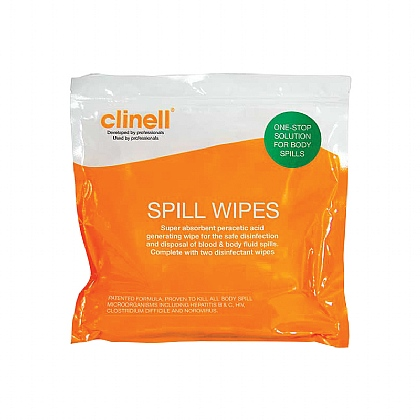 Clinell Spill Wipe - Single Unit