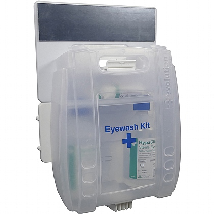 Evolution Plus 2x500ml Eyewash Kit with Mirror